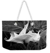 Moonlight/moonflower Weekender Tote Bag