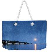 Moonlight On Mackinac Island Michigan Weekender Tote Bag