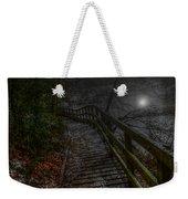 Moonlight On The River Bank Weekender Tote Bag