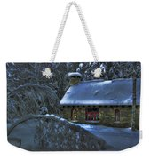 Moonlight On The Stonehouse Weekender Tote Bag