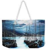 Moonlight Over Port Of Spain Weekender Tote Bag