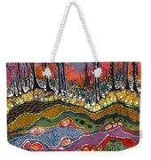 Moonlight Over Spring Weekender Tote Bag