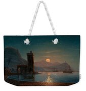 Moonlight Reflecting On Water Weekender Tote Bag