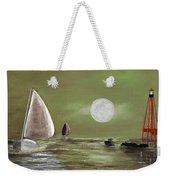 Moonlight Sailnata 2 Weekender Tote Bag
