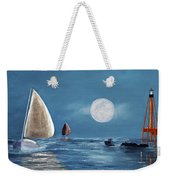 Moonlight Sailnata 4 Weekender Tote Bag