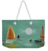Moonlight Sailnata Weekender Tote Bag