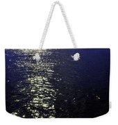 Moonlight Sparkles On The Sea Weekender Tote Bag