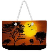 Moonlight, Supermoon Weekender Tote Bag
