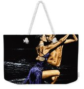 Moonlight Tango Weekender Tote Bag
