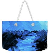 Moonlight Trek Weekender Tote Bag