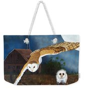 Moonlit Flight Weekender Tote Bag