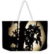Moonlit Leaves No 1 Weekender Tote Bag