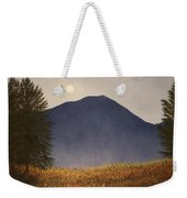 Moonlit Mountain Meadow Weekender Tote Bag