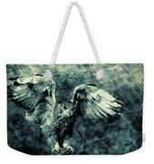 Moonlit Owl Weekender Tote Bag