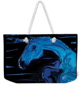 Moonlit Run Weekender Tote Bag