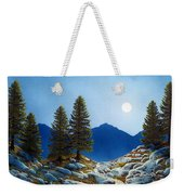 Moonlit Trail Weekender Tote Bag