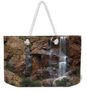 Moonlit Waterfall Weekender Tote Bag