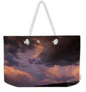 Moonrise And Sunset Weekender Tote Bag