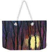 Moonrise In December Weekender Tote Bag