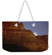 Moonrise Over The Grand Canyon Weekender Tote Bag