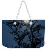 Moonrise Over Wetlands Weekender Tote Bag