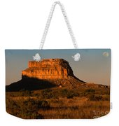 Moonset At Fajada Butte Weekender Tote Bag