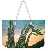 Moonset-bristlecone Pine Weekender Tote Bag