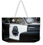 Moonshine Patrol Weekender Tote Bag by DigiArt Diaries by Vicky B Fuller