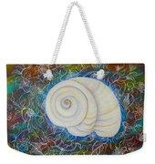 Moonsnail Lace Weekender Tote Bag