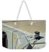 Mooring Ropes - Ryde Harbour Weekender Tote Bag