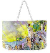 Moorish Castle In Sintra 01 Weekender Tote Bag