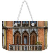 Moorish Style Windows Venice_dsc1450_02282017 Weekender Tote Bag