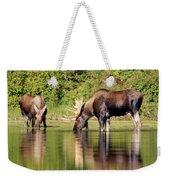Moose Country Weekender Tote Bag