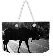 Moose Crossing Weekender Tote Bag