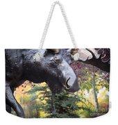 Moose In Vail Weekender Tote Bag