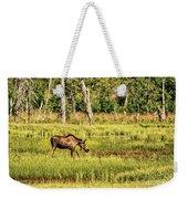Moose Meadows Weekender Tote Bag