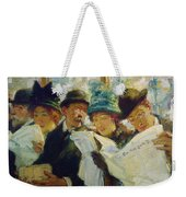Mora Morning News C1912 Weekender Tote Bag