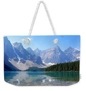 Moraine Lake Down Low Weekender Tote Bag