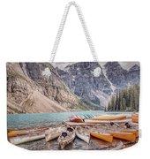 Moraine Lake Transportation  Weekender Tote Bag