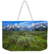 Moran Meadows Weekender Tote Bag