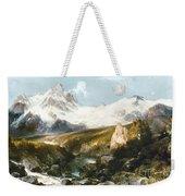 Moran: Teton Range, 1897 Weekender Tote Bag
