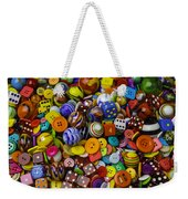 More Beautiful Marbles Weekender Tote Bag