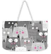 More Cats Weekender Tote Bag