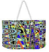 More Colors Abstract Weekender Tote Bag