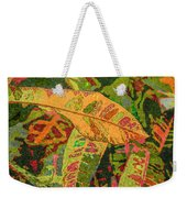 More Fern Abstraction Weekender Tote Bag