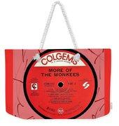 More Of The Monkees Lp Label Weekender Tote Bag