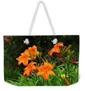 More Orange Daylilies Weekender Tote Bag