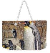 More Snow - King Penguin Weekender Tote Bag