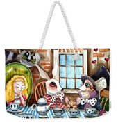 More Tea Weekender Tote Bag