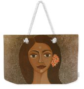 More Than Flowers She Sold Illusions Weekender Tote Bag